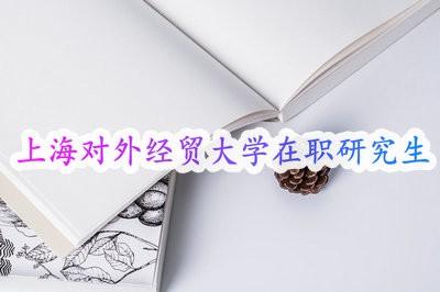 上海对外经贸大学在职研究生同等学力报考形式属于学历教育吗?