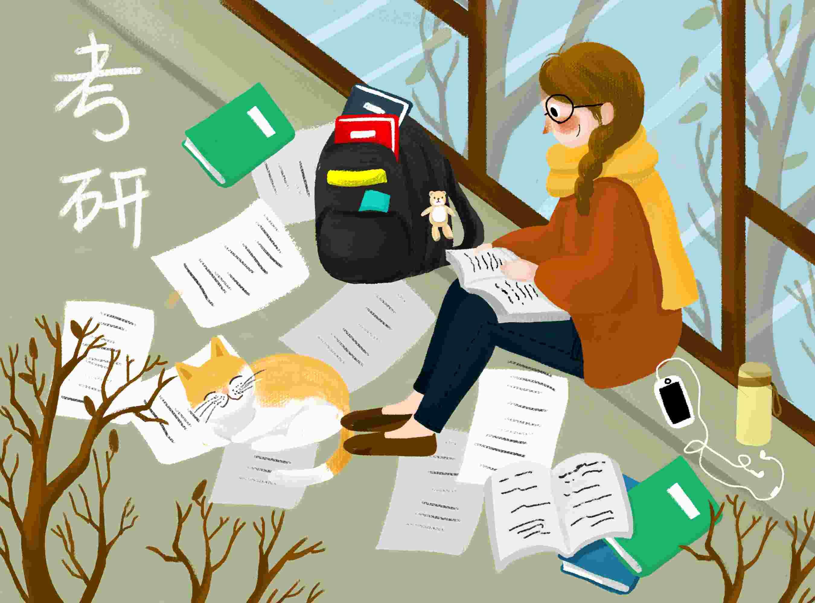 在职研究生难考吗