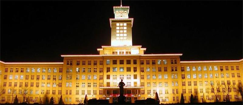 南开大学夜景