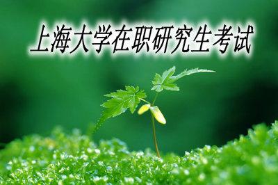 上海大学在职研究生考试