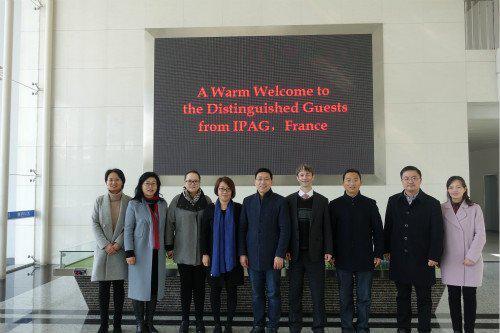 IPAG与淮阴工学院签署合作备忘录