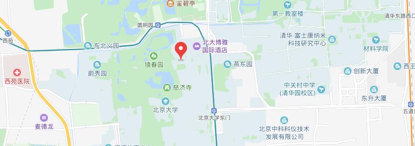 北京大学学校地址图片