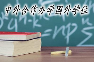 中外合作办学国外学位