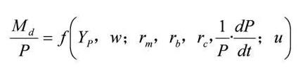 弗里德曼的现代货币数量论